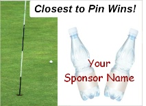 Closest To Pin Beverage Sponsor