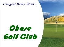 Longest Drive Mountain golf