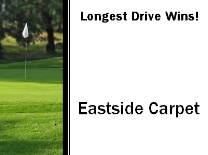 Longest Drive Flag In Grass