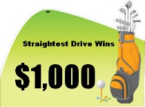 Straightest Drive Golf Bag Shaped