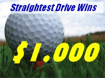 Straightest Drive GolfBall
