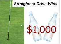 Straightest Drive Beverage Sponsor