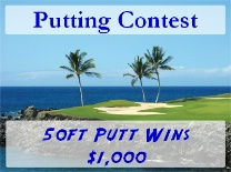 Putting Contest Tropical Green