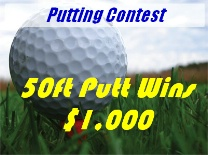 Putting Contest GolfBall