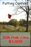 Putting Contest Red Flag